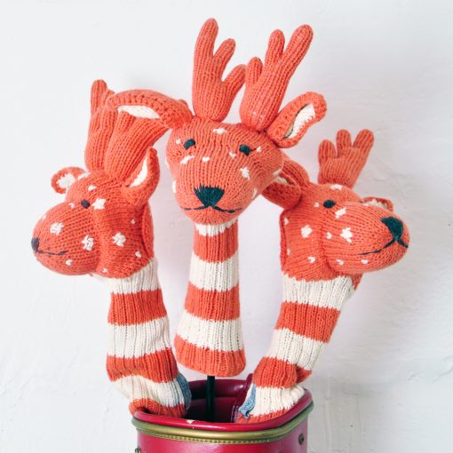 ChunkiChilli Reindeer Head Golf Club Covers