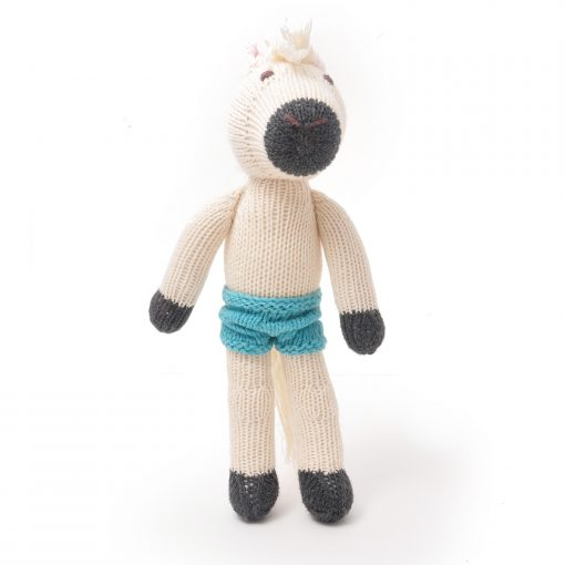 White Horse Soft Toy