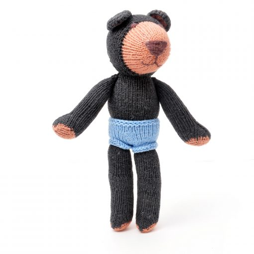 Naked Brown Bear Soft Toy