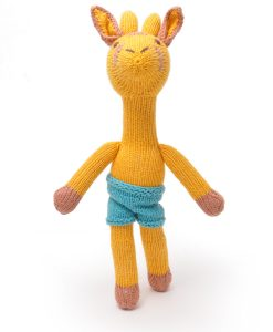 Naked Giraffe Soft Toy