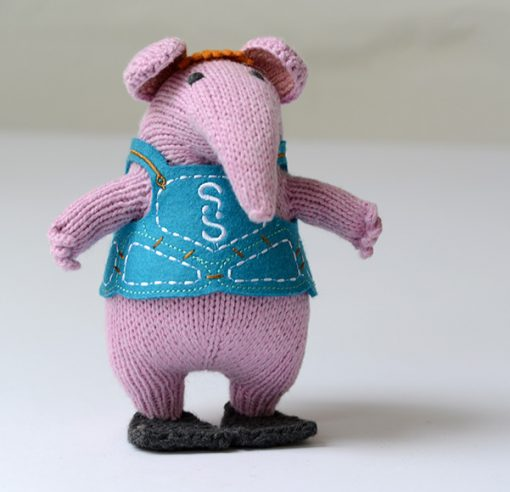 Clangers Hand Knitted by ChunkiChilli