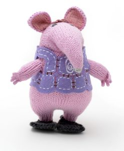 Clangers Granny Soft Toy in Organic Cotton