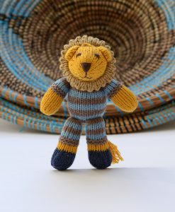 Stripy Lion Toddler Soft Toy