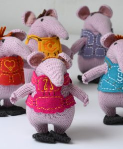 Hand Knitted Clangers