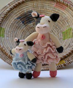 ChunkiChilli Fresian Cow Soft Toys