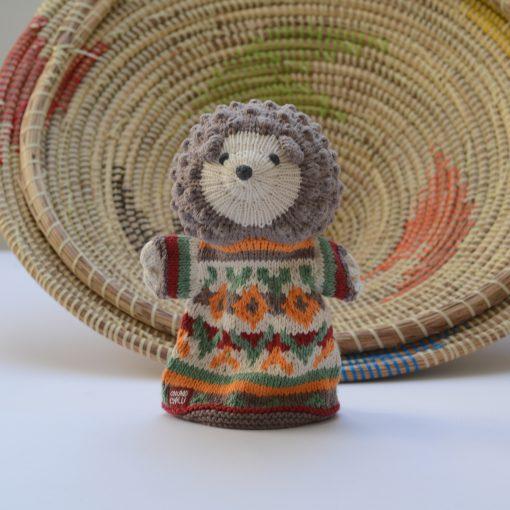 ChunkiChilli Hedgehog Hand Puppet