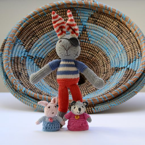Pirate Rabbit and Puppets