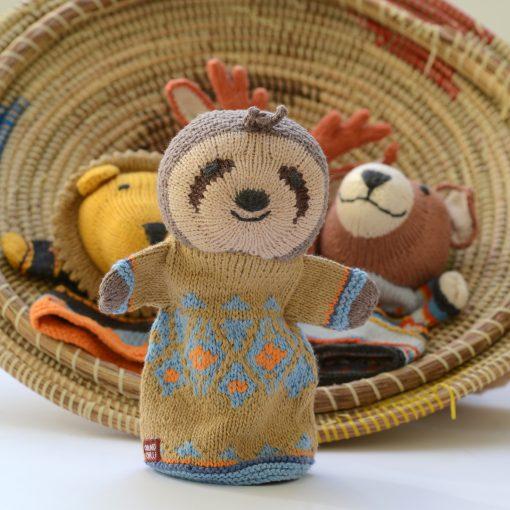 ChunkiChilli Sloth Hand Puppet