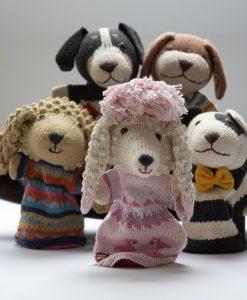 ChunkiChilli Pink Poodle Hand Puppet