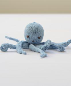 ChunkIChilli Light Blue Octopus Soft Toy