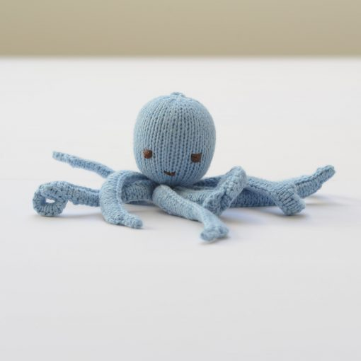 ChunkIChilli Light Blue Octopus Soft Toy