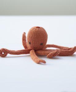 ChunkiChilli Orange Octopus Soft Toy