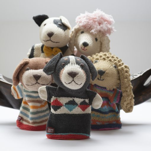 ChunkiChilli Sheepdog Hand Puppet