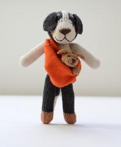 ChunkiChilli Sheepdog and Baby Soft Toys