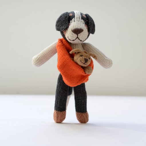 ChunkiChilli Sheepdog and Baby Soft Toys