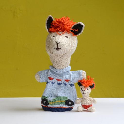 ChunkiChilli Alpaca Pocket Puppet