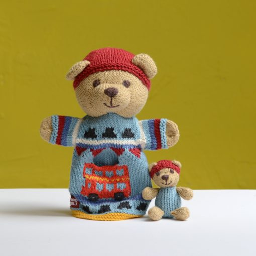 ChunkiChilli Teddy Bear Pocket Puppet