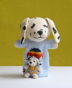 ChunkiChilli Dalmatian Pocket Puppet