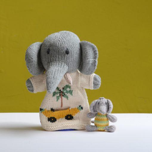 ChunkiChilli Elephant Pocket Puppet