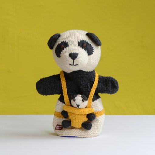 ChunkiChilli Panda Pocket Puppet