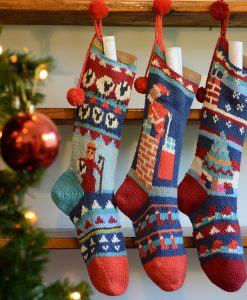 ChunkiChilli Personalised Organic Cotton Christmas Stockings