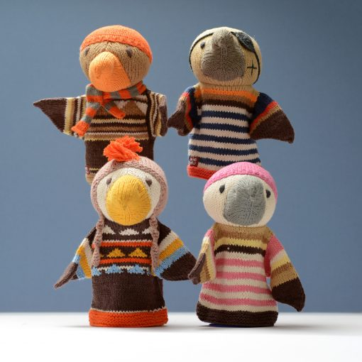 Eagle Hand Puppets in Organic Cotton