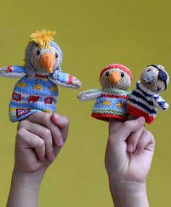 Eagle Puppets in Organic Cotton