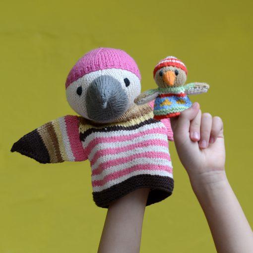 ChunkiChilli Eagle Puppets