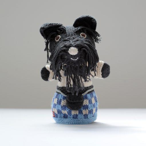 Scottie Dog Hand Puppet