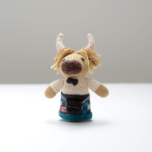 Highlander Toddler Finger Puppet