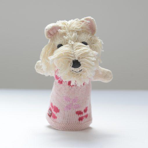Westie Hand Puppet